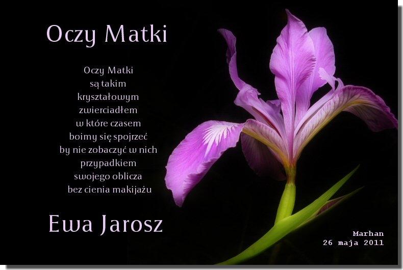 Dzień Matki Oczy Matki Ewa Jarosz Marhan