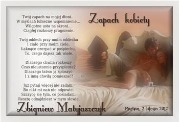 Zbigniew Matyjaszczyk Zapach Kobiety Marhan